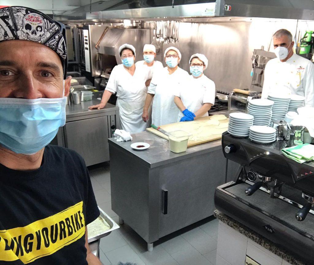 Bringyourbike in Abruzzo. Cucina