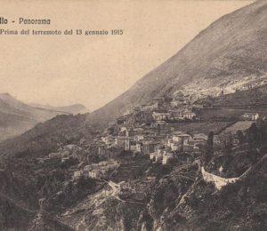 Capistrello prima del terremoto del 1915